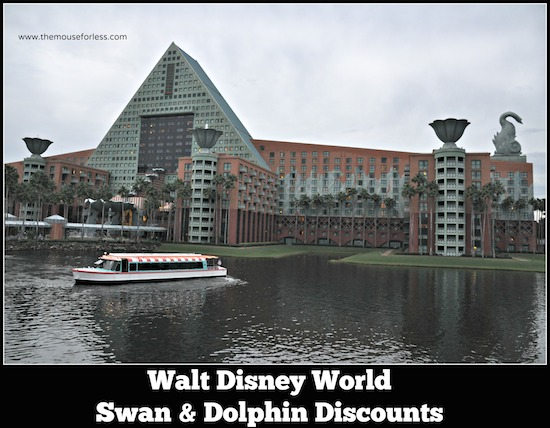 Walt Disney World Swan and Dolphin Discounts