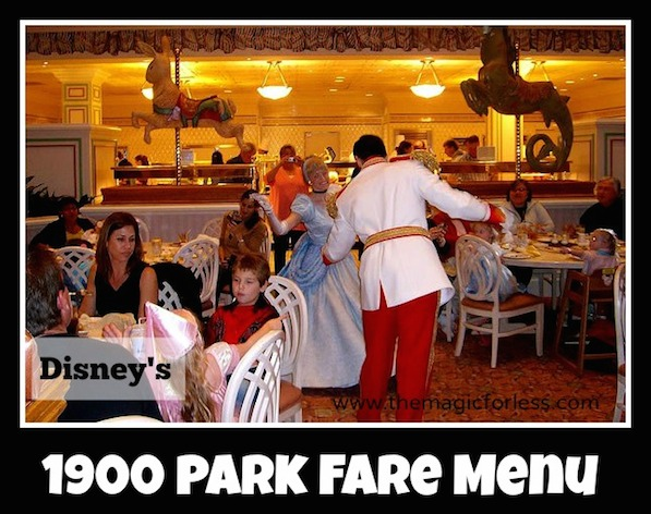 1900 Park Fare Menu at Disney's Grand Floridian #DisneyDining #WaltDisneyWorld