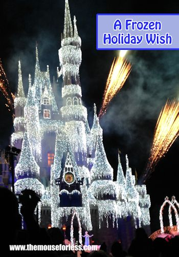 A Frozen Holiday Wish at Mickey's Very Merry Christmas Party