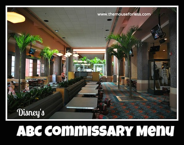 ABC Commissary Counter Service at Disney's Hollywood Studios #DisneyDining #HollywoodStudios