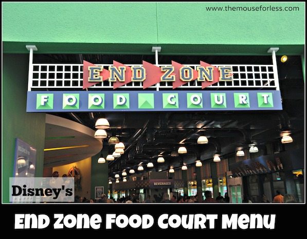 End Zone Food Court at All-Star Sports Resort #DisneyDining #AllStarSports