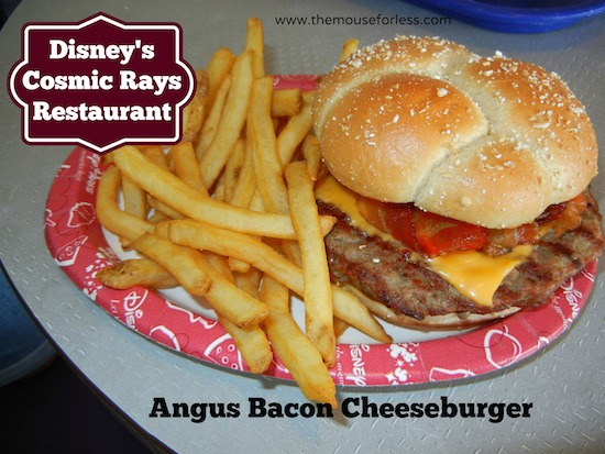 Cosmic Rays Menu at the Magic Kingdom #DisneyDining #MagicKingdom
