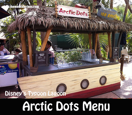 Arctic Dots Menu