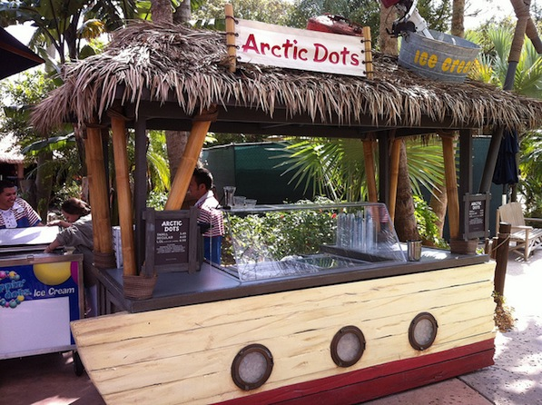 Arctic Dots at Disney's Typhoon Lagoon #DisneyDining #TyphoonLagoon