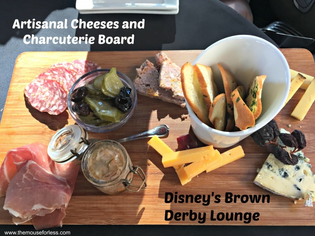 The Hollywood Brown Derby Lounge Artisanal Cheeses and Charcuterie Board