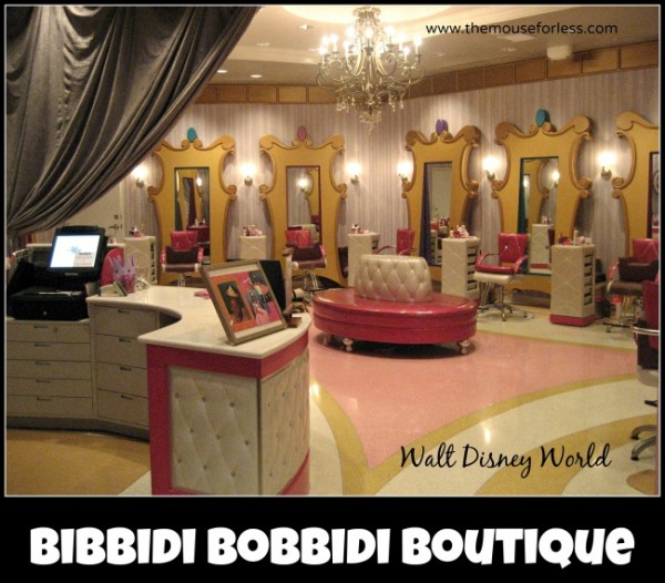 Bibbidi bobbidi boutique salon at walt disney world resort for World boutique