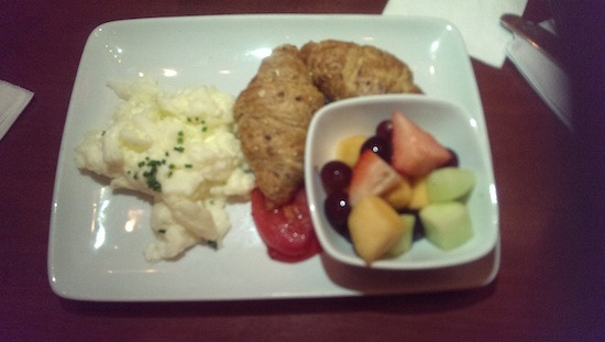 Scrambled Egg Whites at Be Our Guest in the Magic Kingdom #DisneyDining #MagicKingdom