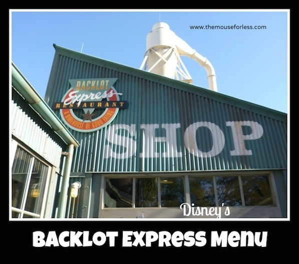 Backlot Express Counter Service at Disney's Hollywood Studios #DisneyDining #HollywoodStudios