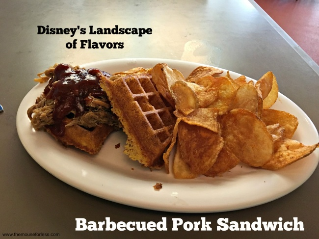 Landscape of Flavors Barbecued Pork Sandwich