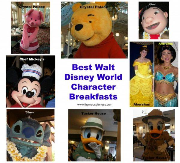 Best Walt Disney World Character Breakfasts