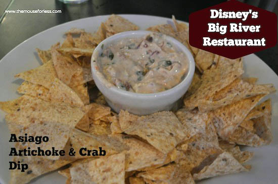 Asiago Artichoke & Crab Dip from Big River Grille at Disney's BoardWalk Resort #DisneyFood #WaltDisneyWorld
