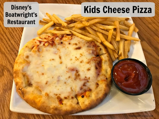 Boatwright's Dining Hall Kids Cheese Pizza