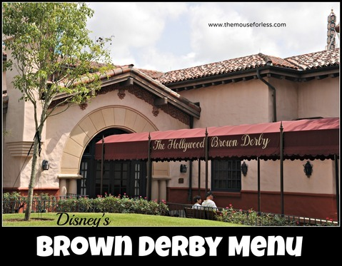 The Hollywood Brown Derby Signature Dining at Disney's Hollywood Studios #DisneyDining #DisneysHollywoodStudios