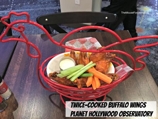 Planet Hollywood Observatory menu Disney Springs