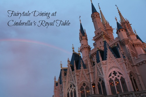 Fairytale Dining at Cinderella's Royal Table