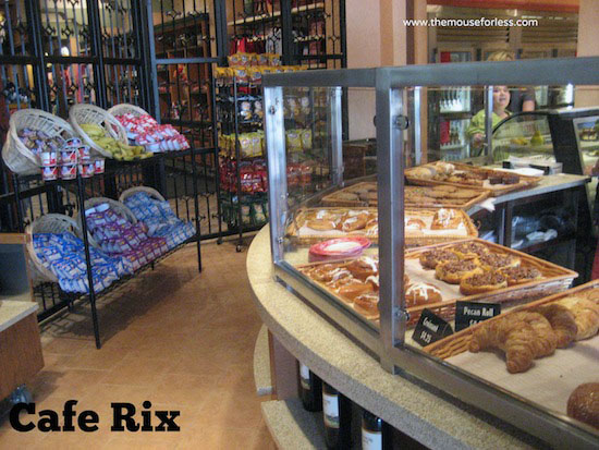 Cafe Rix Menu at Coronado Springs Resort #DisneyDining #CoronadoSprings