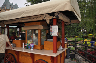Snack Cart in World Showcase