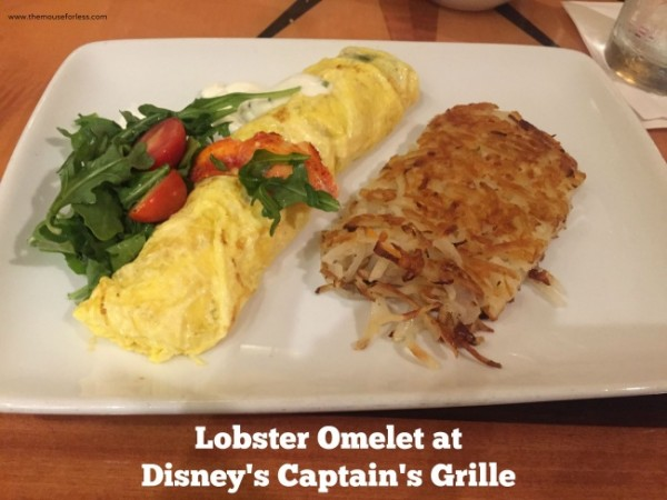 Captain's Grill Lobster Omelet