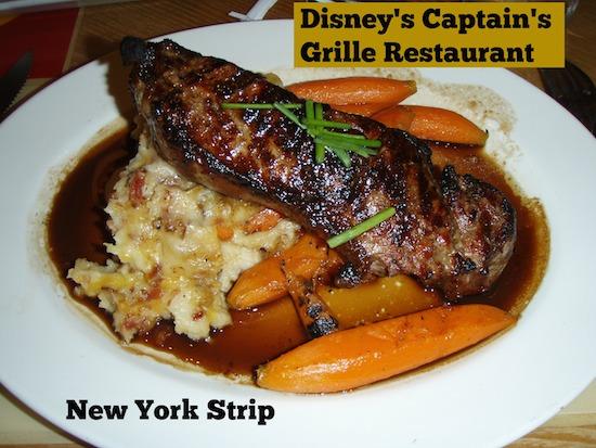 Captain's Grille Menu at Disney's Yacht Club Resort #DisneyDining #YachtClubResort