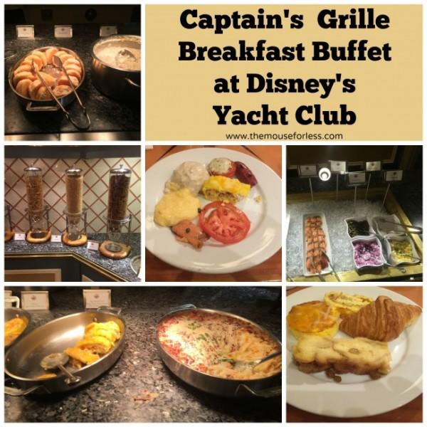Captain's Grille buffet