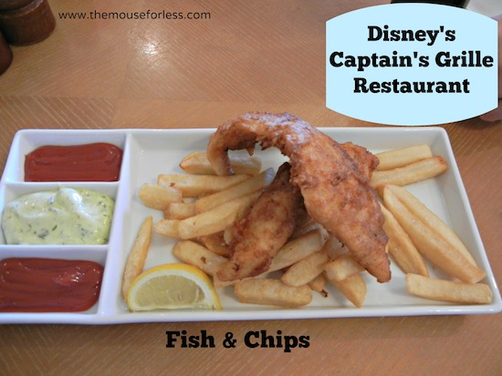 Captain's Grille Menu at Disney's Yacht Club Resort #DisneyDining #YachtClubResort