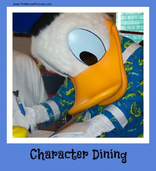 Walt Disney World Best Character Dinners