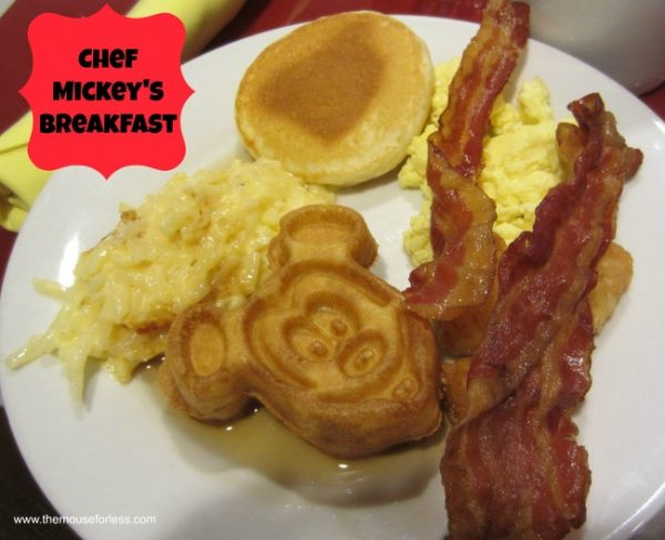 Chef Mickey's Breakfast