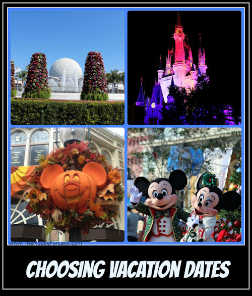 How to Choose your Walt Disney World vacation dates