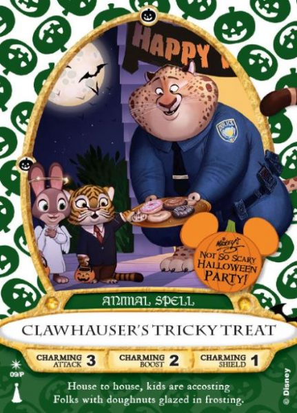 Clawhauser's Tricky Treat