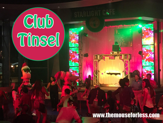 Club Tinsel | Mickey's Very Merry Christmas Party