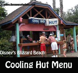 Cooling Hut Menu