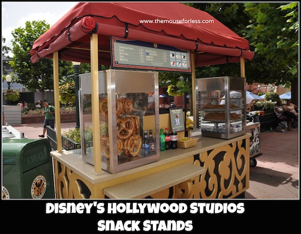 Snack Cart Menus at Disney's Hollywood Studios #DisneyDining #HollywoodStudios