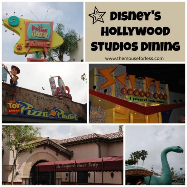 Disney's Hollywood Studios Restaurants