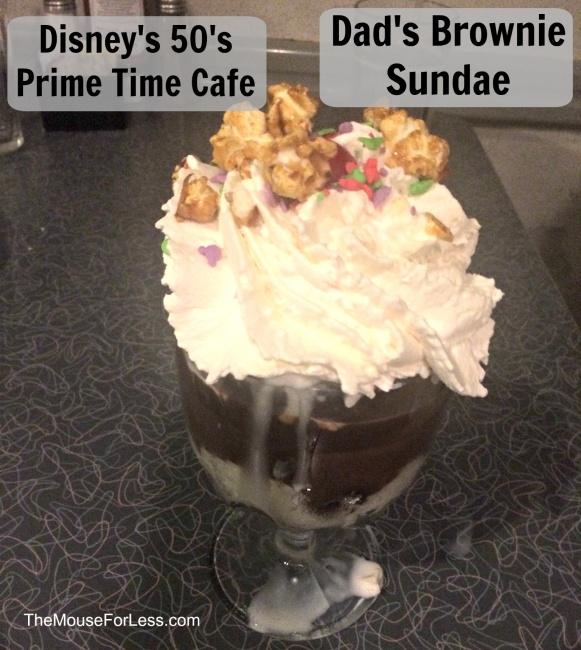 50 S Prime Time Cafe Menu Disney S Hollywood Studios