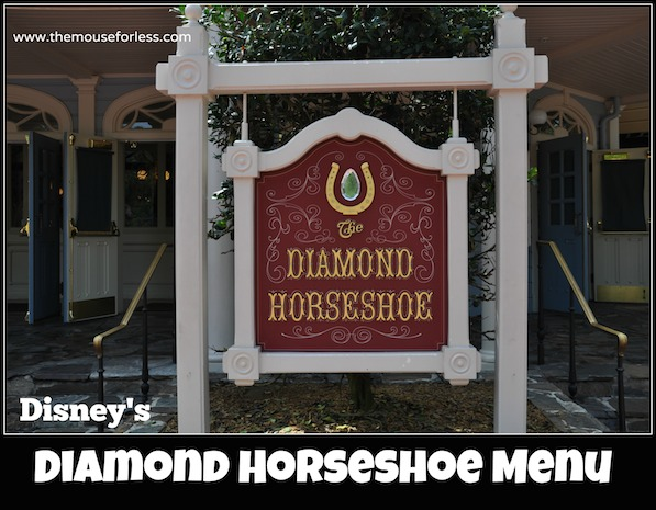 Diamond Horseshoe Menu at Magic Kingdom #DisneyDining #MagicKingdom