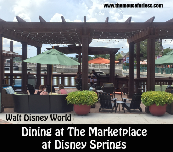 Dining at The Marketplace at Disney Springs