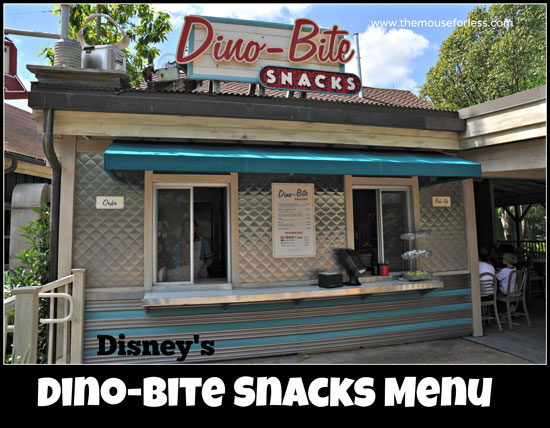 Dino-Bite Snacks at Disney's Animal Kingdom