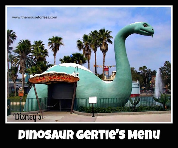 Dinosaur Gerties Snacks at Disney's Hollywood Studios #DisneyDining #HollywoodStudios