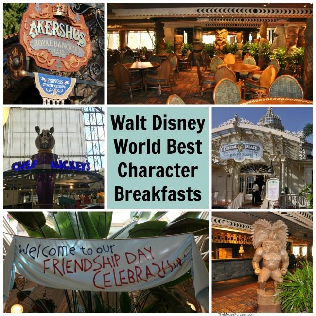 Disney Best Character Breakfast