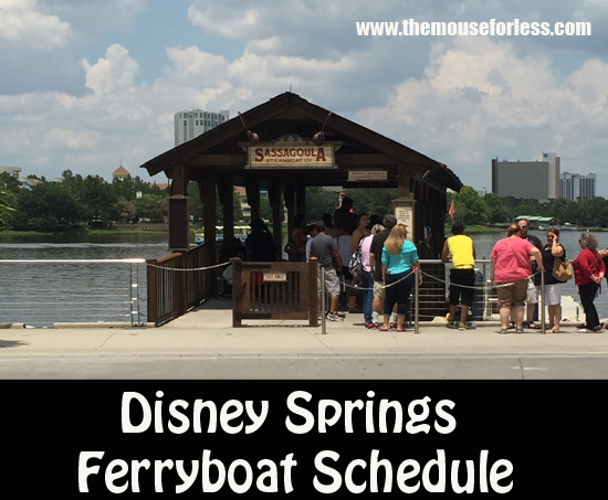 Disney Springs Ferryboat Schedule