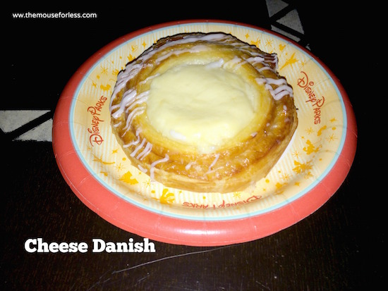 Cheese Danish - Landscape of Flavors Food Court Menu at Disney's Art of Animation Resort #DisneyDining #WDW