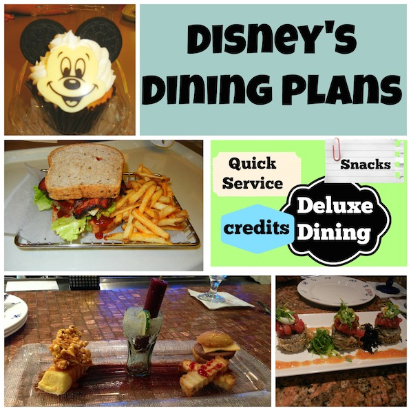 Magic Your Way Dining Plans Disney Dining
