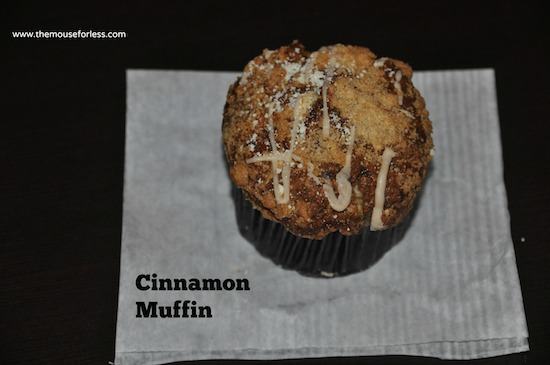 Cinnamon Muffin from Disney's Contempo Cafe at Disney's Contemporary Resort #DisneyFood #WaltDisneyWorld