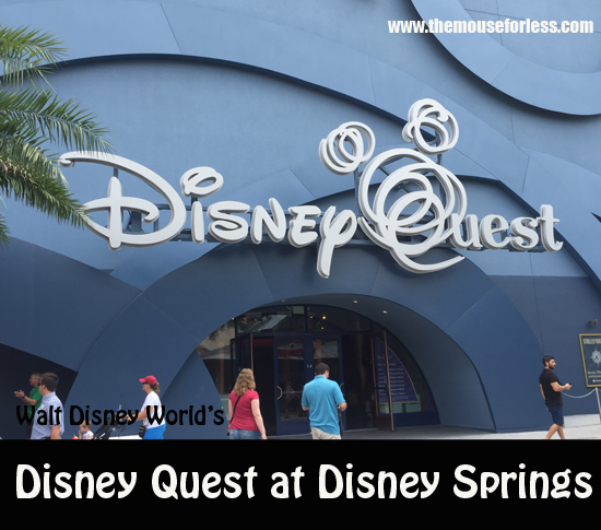 DisneyQuest at Disney Springs