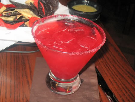 Lime Raspberry Margarita