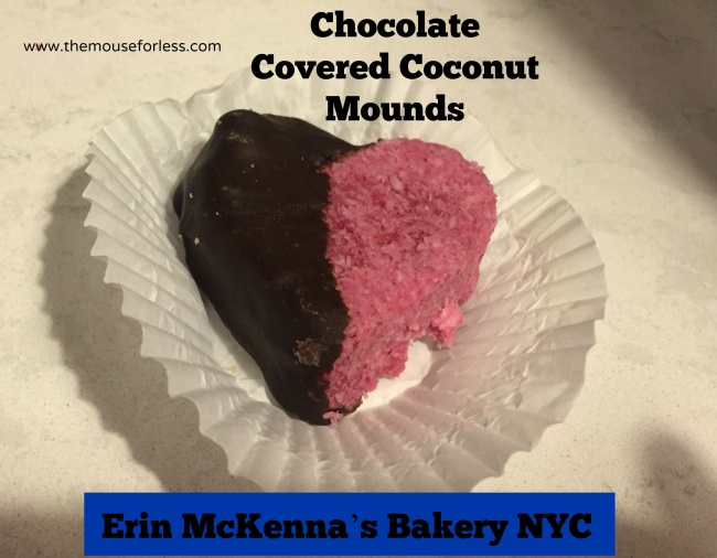 Erin McKenna's Bakery NYC Chocolate Covered Coconut mounds at Disney Springs The Landing #DisneyDining #DisneySprings