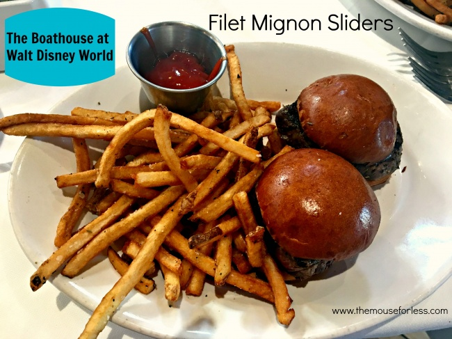 The BOATHOUSE Filet Mignon Sliders
