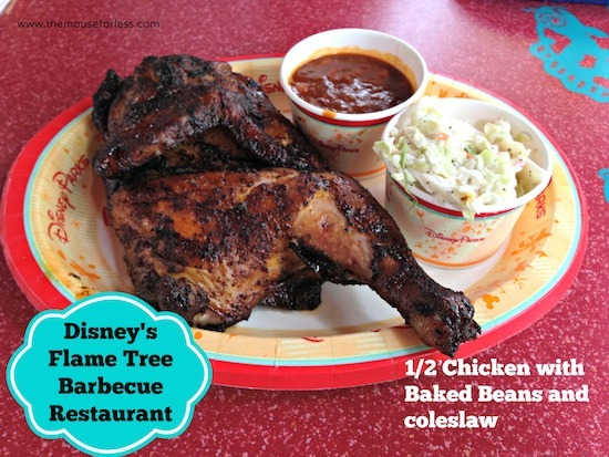 Flame Tree Barbecue Counter Service at Disney's Animal Kingdom #DisneyDining #AnimalKingdom