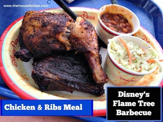 Flame Tree Barbecue Counter Service at Disney's Animal Kingdom #DisneyDining #AnimalKingdom