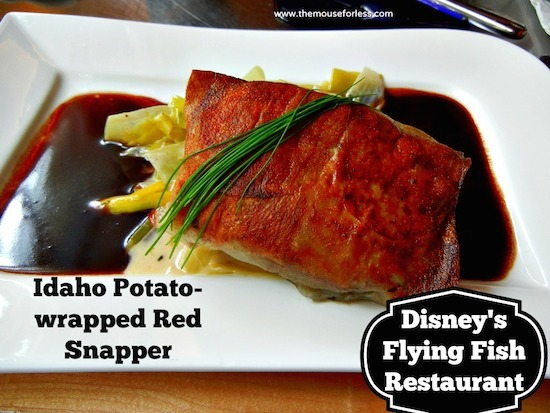 Flying Fish at Disney's Boardwalk Resort #DisneyDining #BoardwalkInn